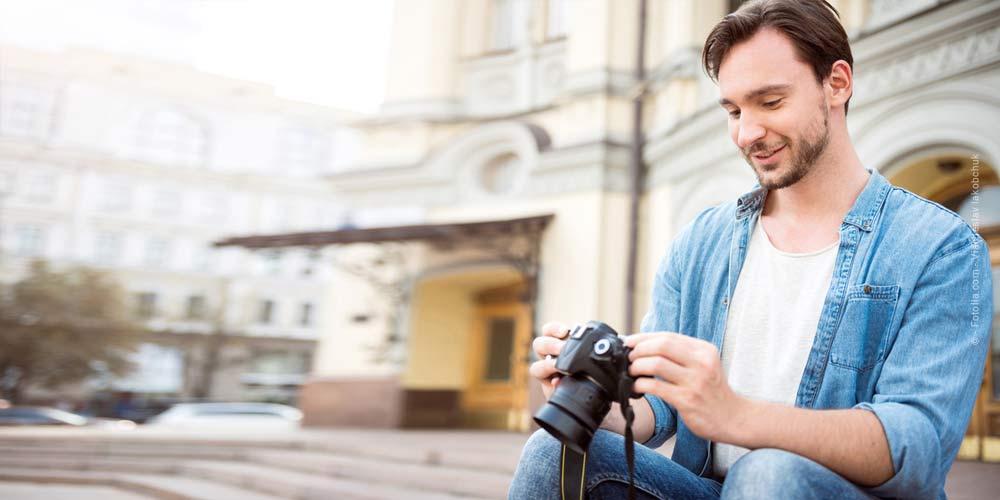 Trépied d'appareil photo - Exposition sans flou : Trépied ou monopied