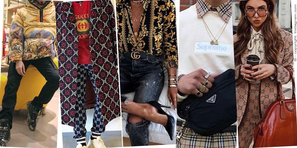 C'est ainsi que la femme 2019 est consciente de la mode - portant Gucci, Chanel, Burberry dans la vie de tous les jours