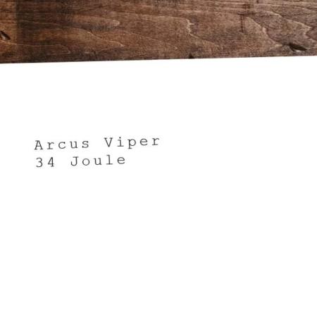 Pistolet CO2 le plus puissant et le meilleur : Arcus Viper - 34 Joule