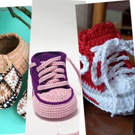 Tricotez vos propres chaussons pour bébé : Instructions, tableau des tailles et astuces