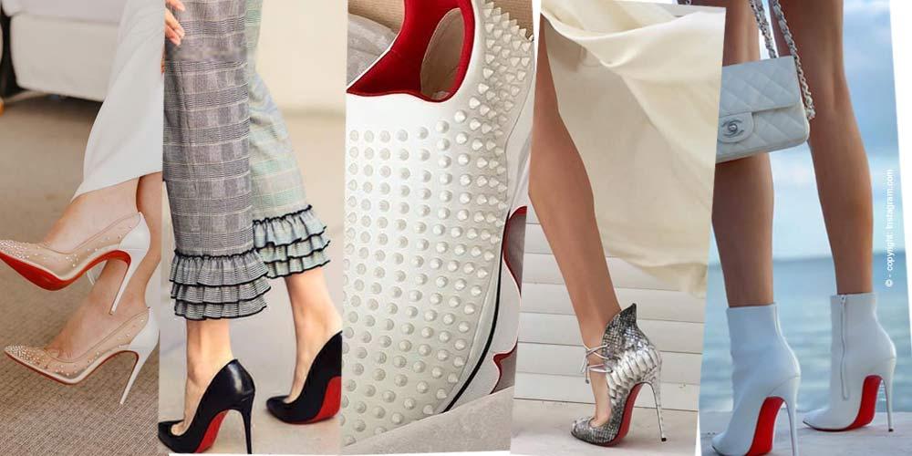prix compétitif 54056 d705d Louboutin : La chaussure à semelle rouge - FIV Magazine ...