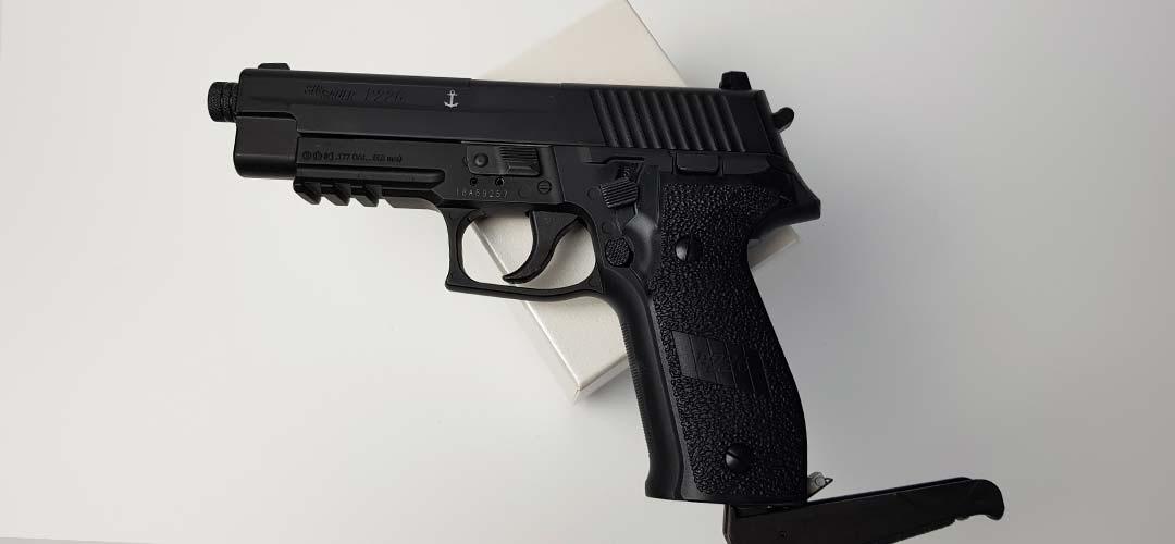 Sig Sauer P226 Pistolet CO2 Blowback achat - Revue et test de tir