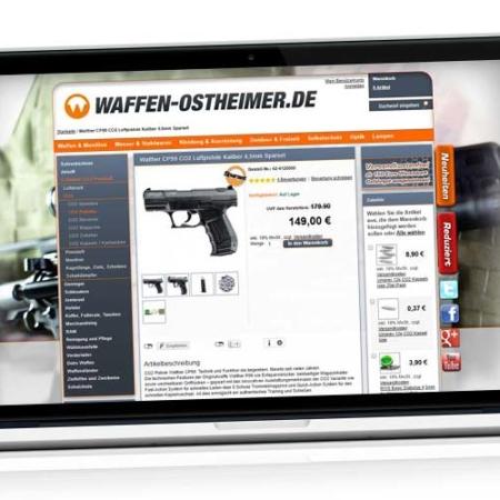 Pistolet CO2 pas cher ?! Achetez des armes en ligne : Comparaison Walther CP99