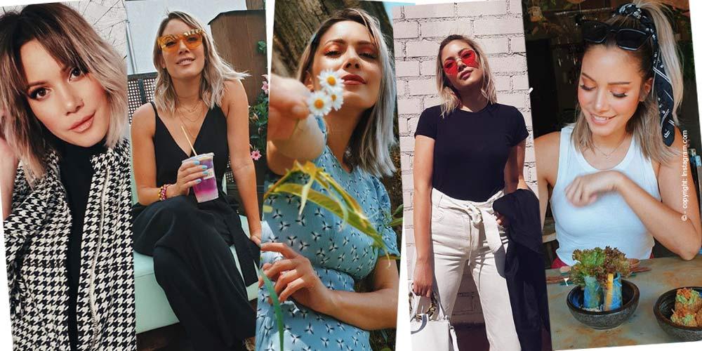 Influencerin Funnypilgrim sur la mode, la beauté et la nourriture