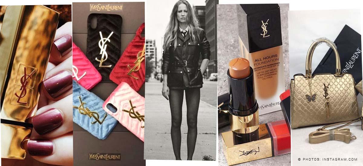 Yves Saint Laurent: Sac, rouge à lèvres & parfum - Des tendances aussi pour les hommes