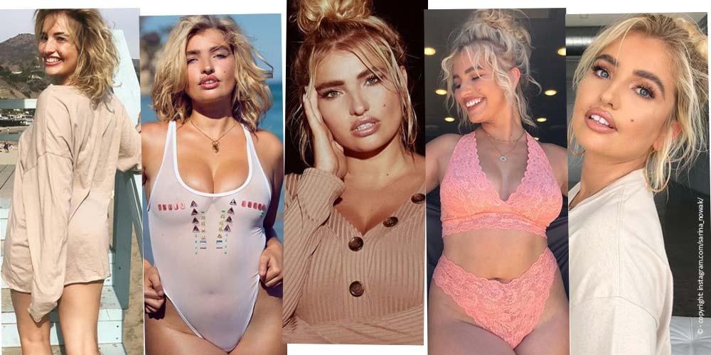 Sarina Nowak - Du Modèle moyen malheureux au Modèle Curvy à succès