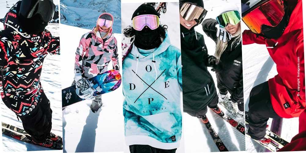 Les dernières tendances en matière de vestes de ski pour femmes pour la saison d'hiver 2018/2019.