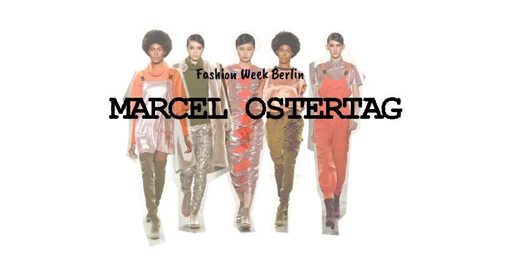 Marcel Ostertag X Fashion Week Berlin