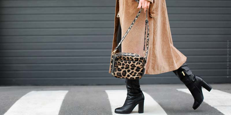 Motifs animaliers : Tendances de la mode - veste, chaussures, manteaux et autres.