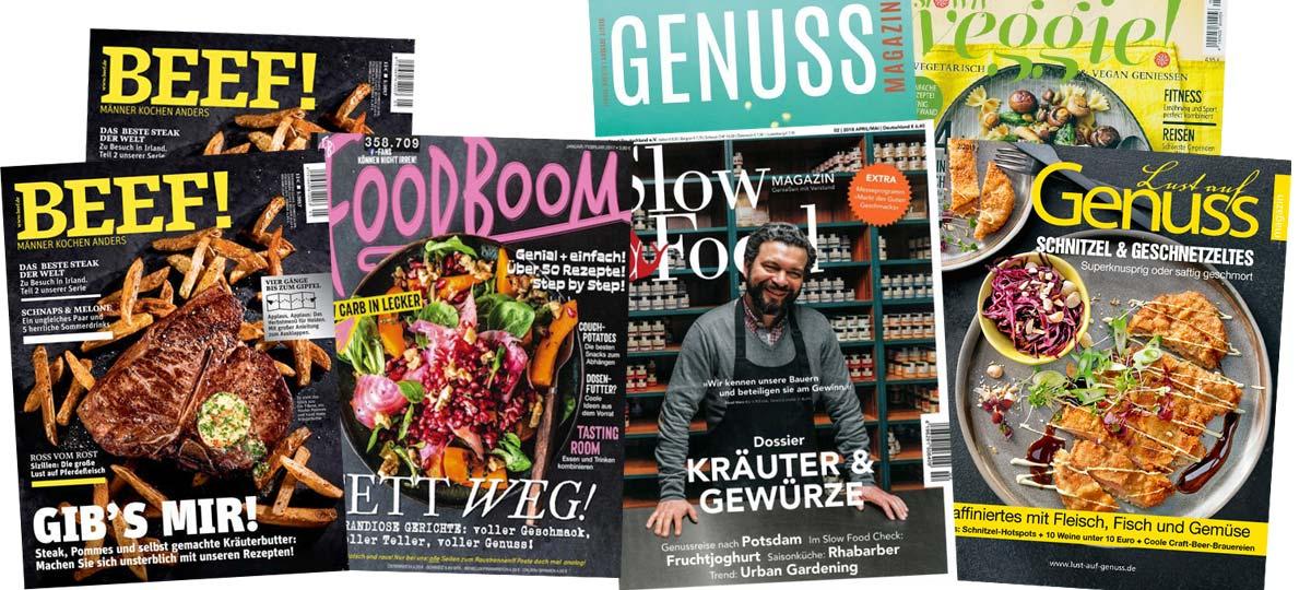 Que cuisiner aujourd'hui ? Les meilleurs magazines en Allemagne pour la cuisine et la boulangerie