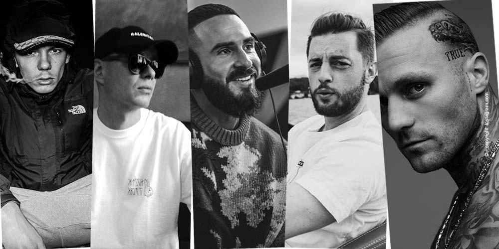 Top 5 - rappeurs connus Allemagne