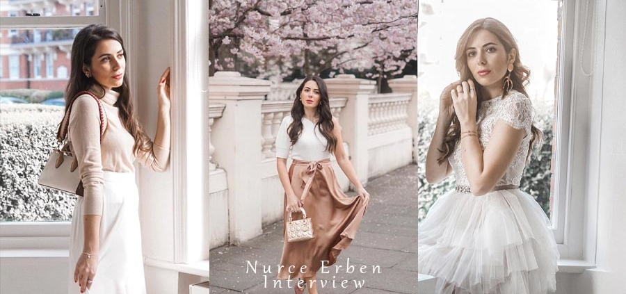 Influenceur mode, style de vie et beauté : Nurce Erben - Interview Exclusive