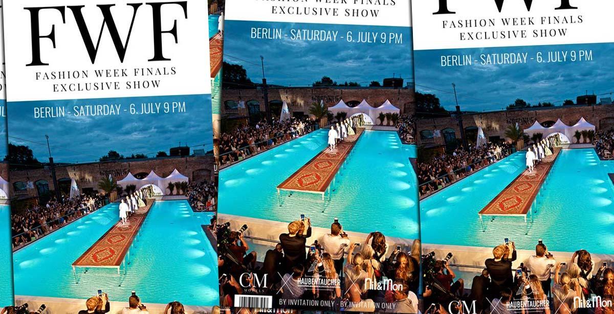 Finales de la semaine de la mode : soirée d'après-spectacle Show + Magazine le 06.07. au Haubentaucher