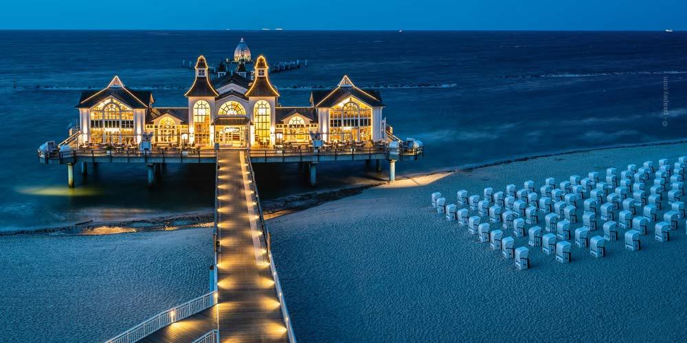 Vacances d'été: Visites, appartements de vacances & Camping - Voyages pour l'île de la mer Baltique