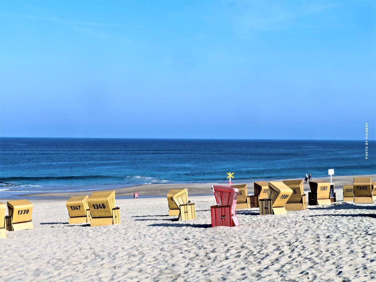Vacances en mer du Nord : curiosités, appartements et maisons de vacances, campings & Co.