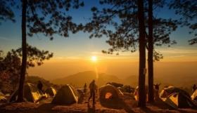 Camping sous tente : sacs de couchage, matelas et hamacs