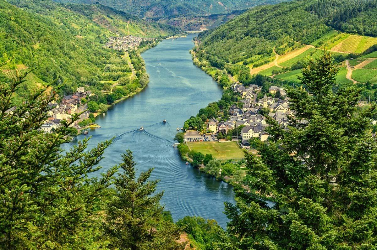 Vacances sur la Moselle : les plus belles villes, les curiosités, le logement & Co.