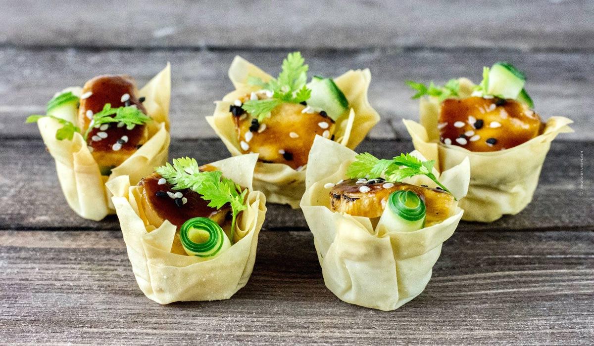 Trucs et astuces pour les fingerfoods de dernière minute: des recettes faciles à copier - végétaliennes, végétariennes & avec de la viande!