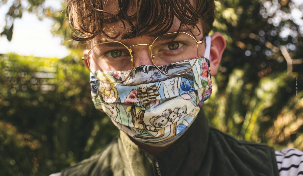 Cousez vos propres masques : des motifs passionnants, des tissus lavables et des instructions détaillées