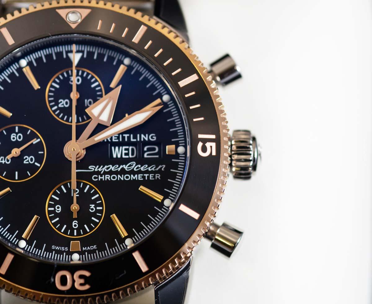 Breitling Superocean : Montre de plongée pour hommes et femmes - design, chronographe, prix