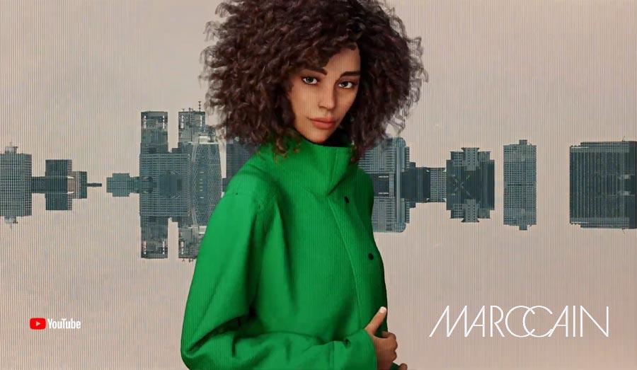 """Un futur défilé de mode ? MarcCain """"How Wonderful"""" @ Fashion Week Berlin : Wow ! Réalité virtuelle"""