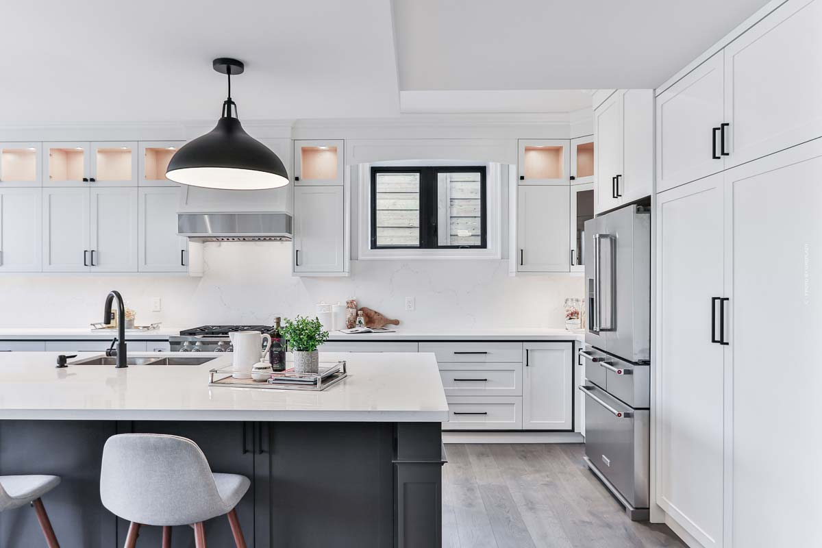 Meubles de cuisine : Du plan de travail au robinet - planifiez et achetez la cuisine moderne de vos rêves avec kitchen island & co.