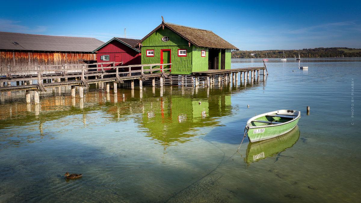 Vacances à l'Ammersee : températures, activités et les plus belles villes