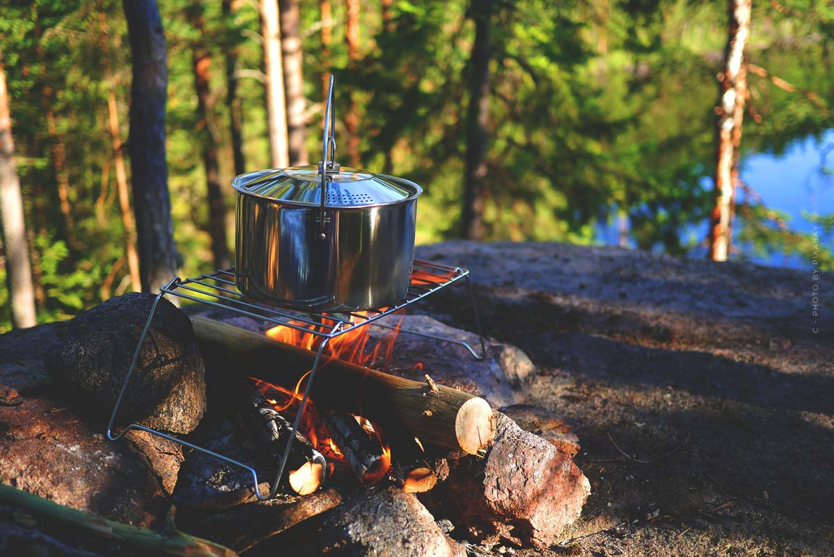 Conseils de cuisine en camping : Recettes, Grillades avec viande et végétarien