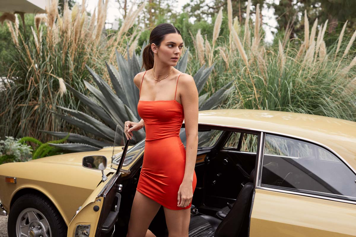 Kendall Jenner pour ABOUT YOU : Collection, Design, Los Angeles - exclusif seulement 3 jours !