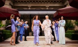 Anja Gockel à la semaine de la mode de Francfort : les points forts de la collection d'été, le défilé de mode & Co !