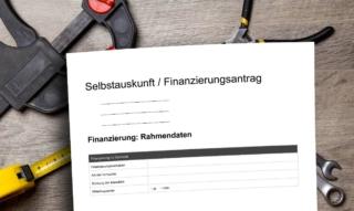 Déclaration volontaire pour la banque : Achat d'une maison et d'un appartement – Sparkasse, Volksbank & Co.