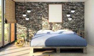Chambre à coucher dans le style de l'industrie : un nouveau look pour la chambre à coucher